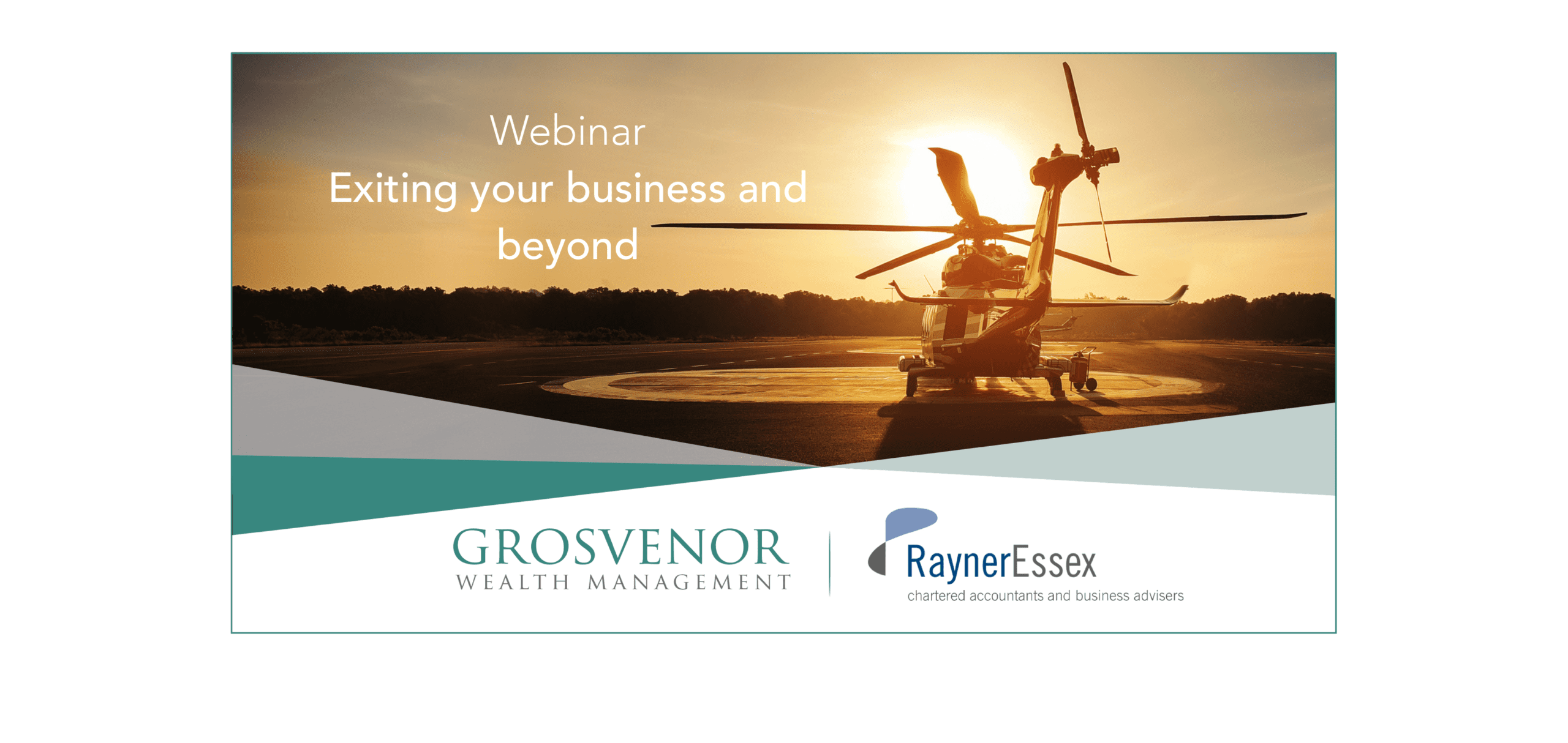 webinar exiting your business